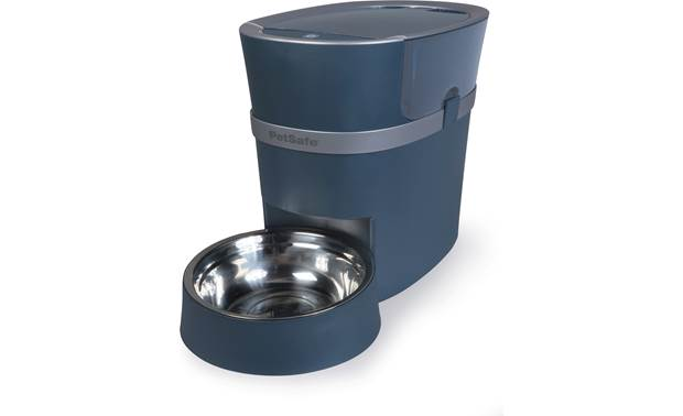 PetSafe Smart Feed Automatic Dog and Cat Feeder, 2nd Generation Stainless steel bowl holds up to 4 cups of food