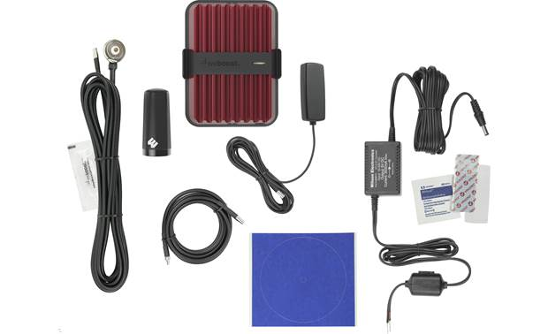 weBoost Drive Reach Fleet Drive Boost Fleet kit with included accessories