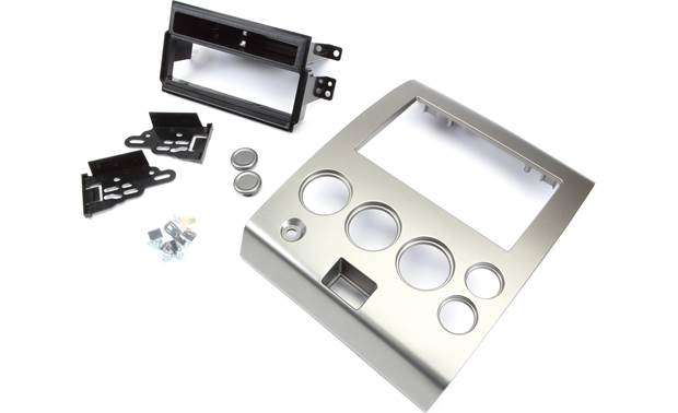 Metra 99-7406 Dash Kit Includes a pocket to fill the space below your DIN radio.