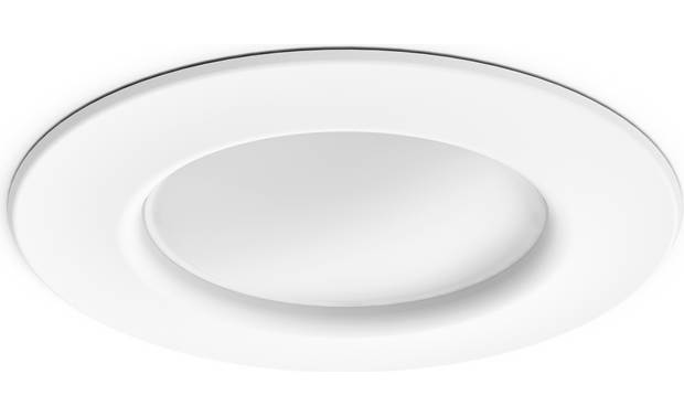 Philips Hue White Ambiance Downlight Flange mounts flush against the ceiling