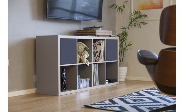 Morel Högtalare Fits perfectly in IKEA's Kallax and Expedit shelving systems (not included)