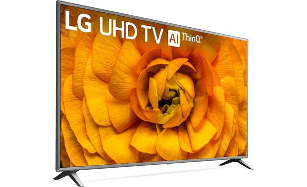 LG 82UN8570PUC Angled right