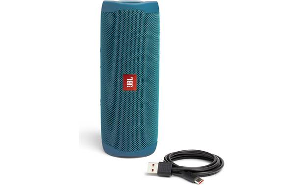 JBL Flip 5 Eco Speaker with included charging cable