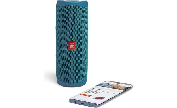 JBL Flip 5 Eco Stream wirelessly via Bluetooth (smartphone not included)