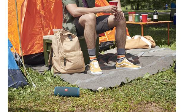 JBL Flip 5 Eco Rugged and waterproof for outdoor use