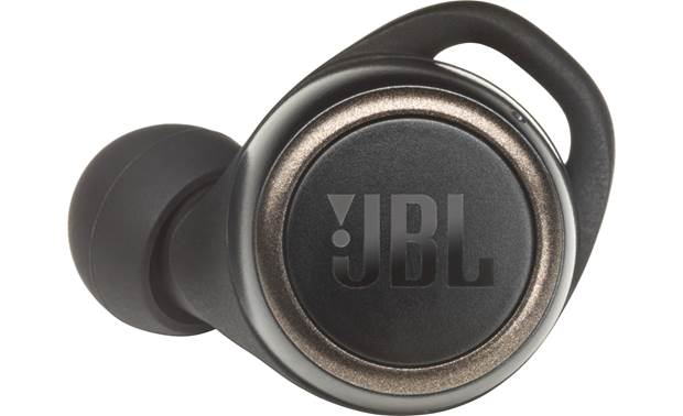 JBL Live 300 TWS Buttons on each earbud for controlling music and calls