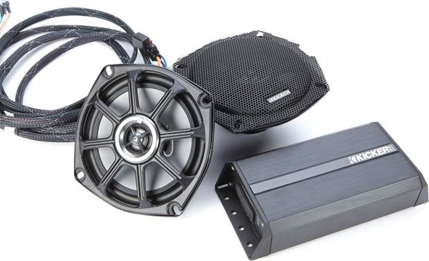Kicker 46HDR982 Great sound for your Harley-Davidson Road Glide
