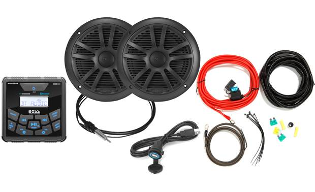 Boss Audio Golf Cart Bundle 2 Front