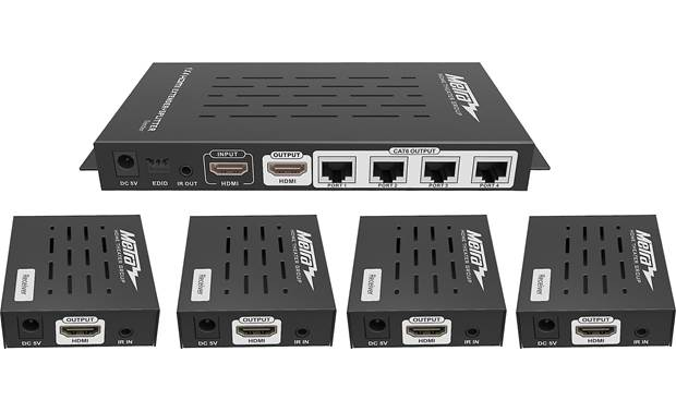 Metra HDMI Splitter and Extender Kit Transmitter and receiver units