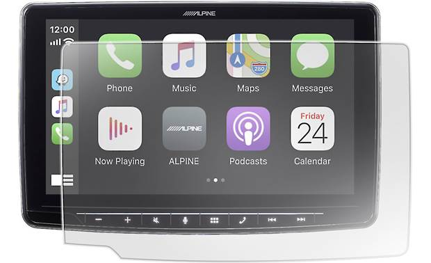 Alpine KTX-HF9 Front (radio not included)
