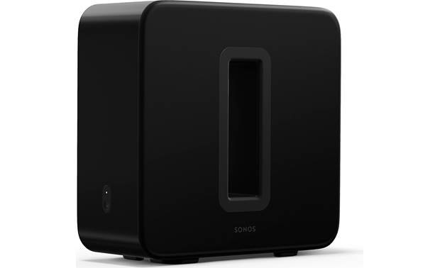 Sonos Arc/Sub/One SL Home Theater Bundle Sub's two force-canceling woofers deliver deep, rich bass with no cabinet buzz or rattle
