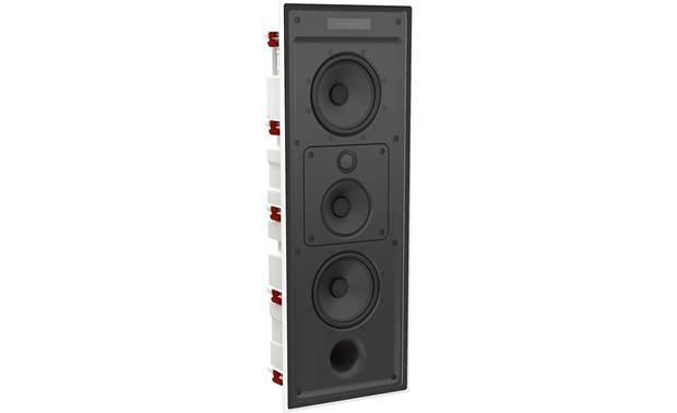 Bowers & Wilkins Reference Series CWM7.3 S2 Angled view with paintable magnetic grille removed