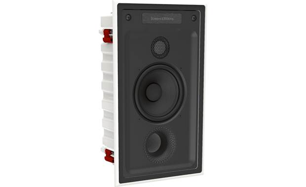 Bowers & Wilkins Reference Series CWM7.5 S2 Angled view with paintable magnetic grille removed