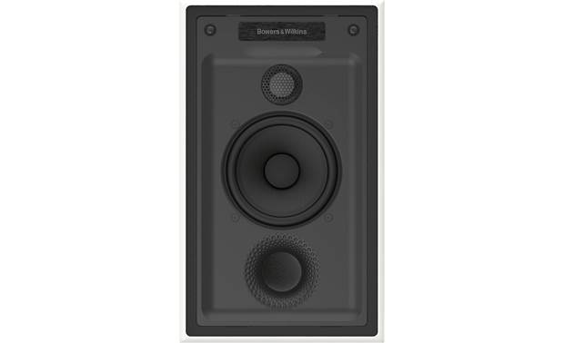Bowers & Wilkins Reference Series CWM7.5 S2 Direct view with paintable magnetic grille removed