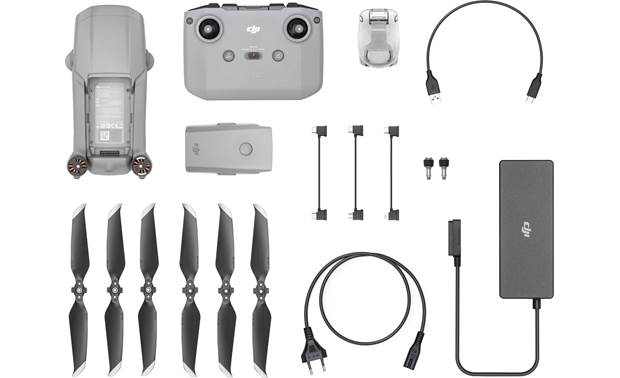 DJI Mavic Air 2 Shown with included accessories