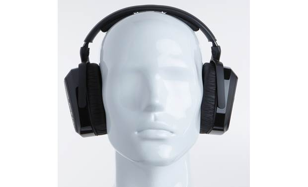 Sennheiser RS 175 Mannequin shown for fit and scale
