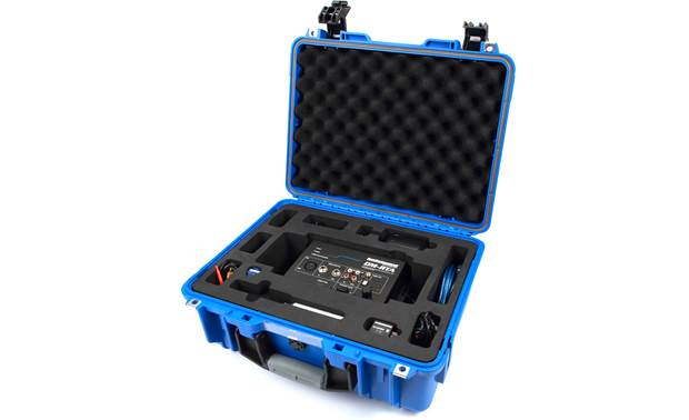 AudioControl DM-RTA Pro Kit This package includes the DM-RTA, an omnidirectional mic, a Bluetooth adapter, cables, and a carrying case.