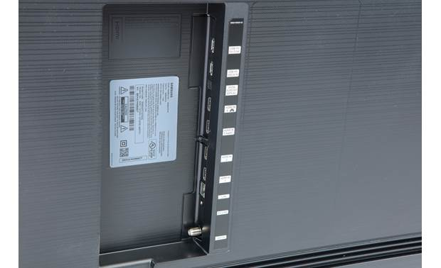 Samsung QN85Q70T Back (A/V connections)