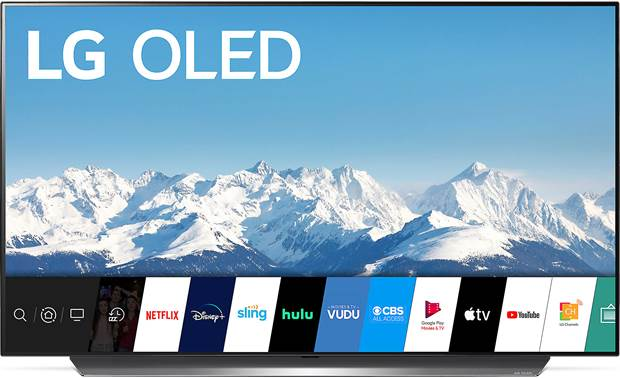 LG OLED48CXPUB LG's AI-powered webOS interface