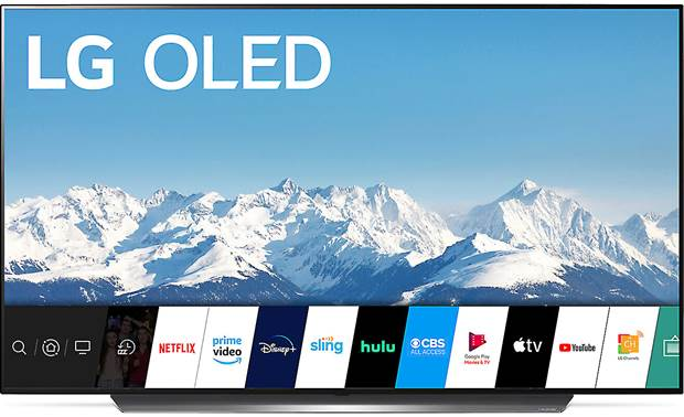 LG OLED65CXPUA LG's AI-powered webOS interface