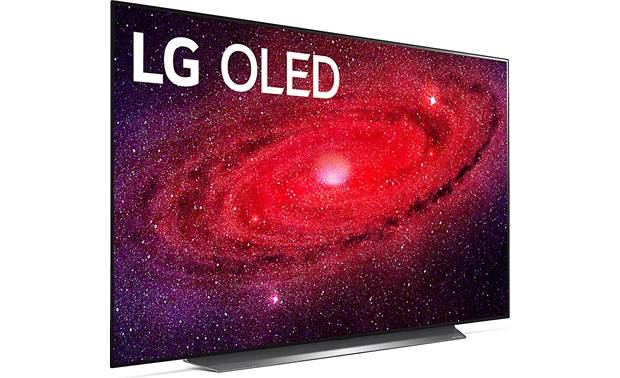 LG OLED65CXPUA Angled right