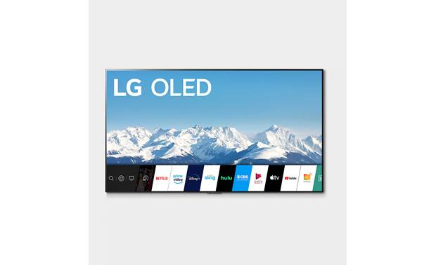 LG OLED65GXPUA LG's AI-powered webOS interface