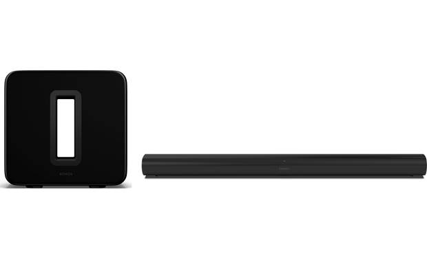 Sonos Arc/Sub Home Theater Bundle Front