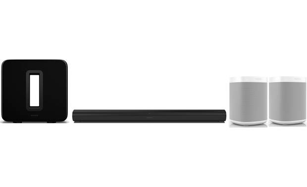 Sonos Arc/Sub/One SL Home Theater Bundle Front
