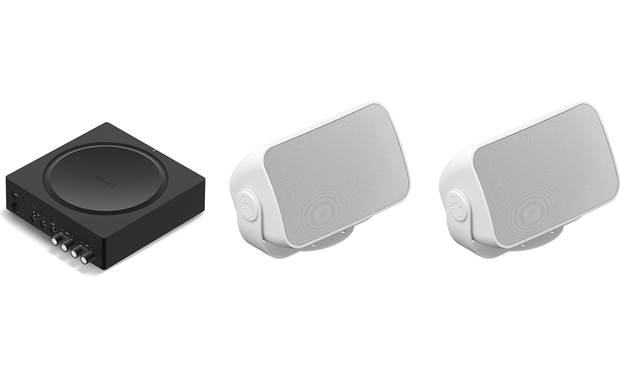 Sonos Outdoor Speaker Bundle Front