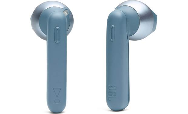 JBL Tune 220TWS Buttons on each earbud for controlling music and phone calls