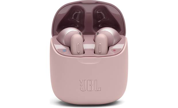 JBL Tune 220TWS 100% wire-free Bluetooth earbuds with charging case