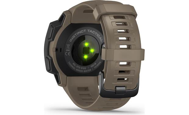 Garmin Instinct Tactical Edition Back