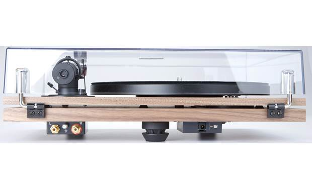 Music Hall MMF-3.3SE (Walnut) Dual-plinth design isolates motor from main bearing and tonearm