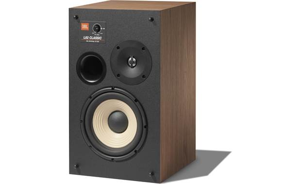 "JBL L82 Classic 8"" woofer, 1"" tweeter, and high-frequency level control on each speaker"