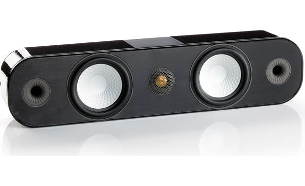 Monitor Audio Apex A40 Angled view with grille removed