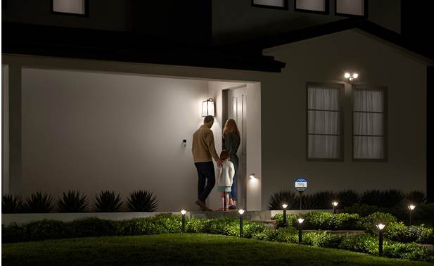 Ring Smart Lighting Solar Steplight Expand your home's ring of security into your landscape with Ring's line of smart lighting devices