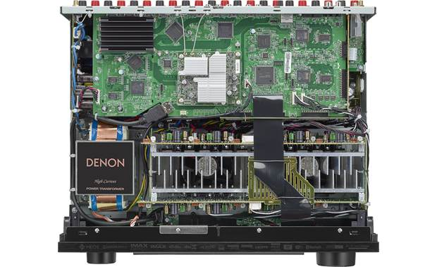Denon AVR-X4700H (2020 model) An inside look at the receiver's circuitry and power supply