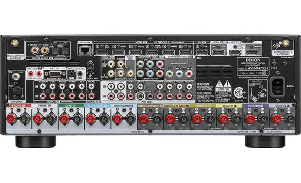 Denon AVR-X4700H (2020 model) Back