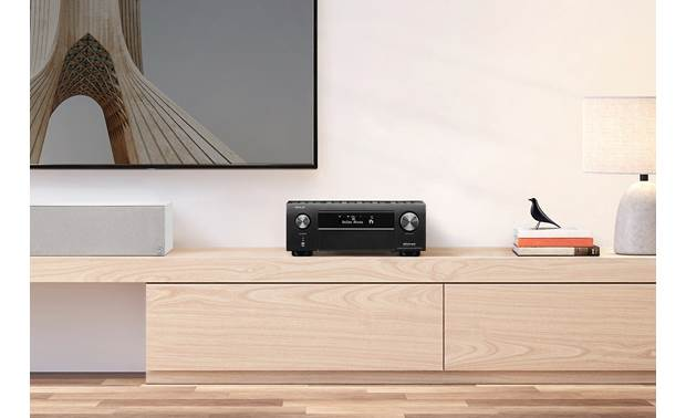 Denon AVR-X4700H (2020 model) Shown in room