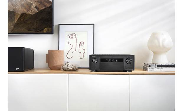 Denon AVR-X6700H (2020 model) Shown in room