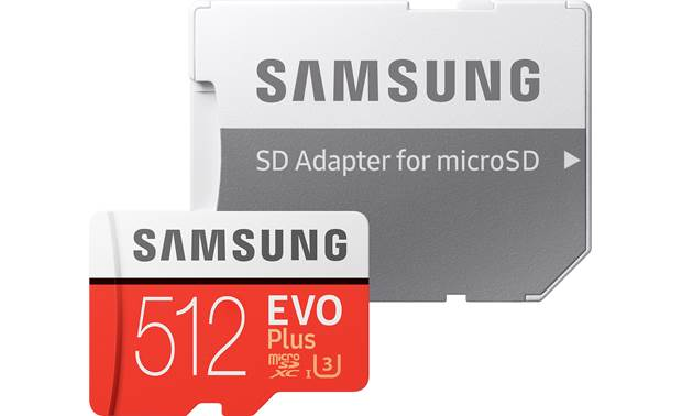 Samsung EVO Plus microSDXC Memory Card Full-size SD card adapter included