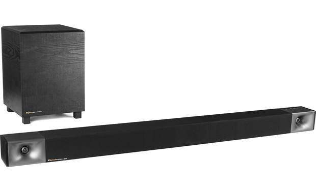 Klipsch Cinema 600 Powered 3.1-channel sound bar/sub system with Bluetooth®  at Crutchfield