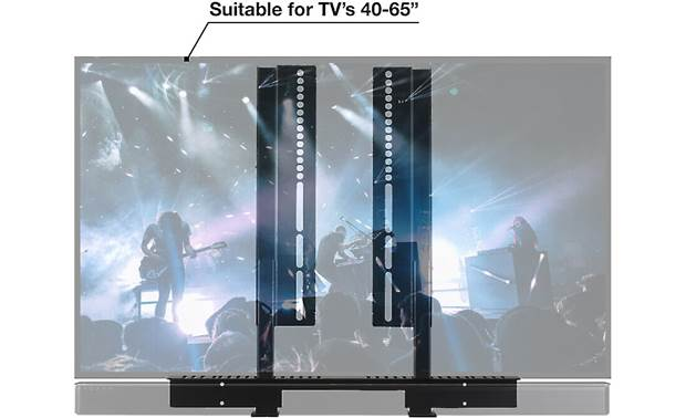 SoundXtra TV Mount Attachment For mounted TVs 40