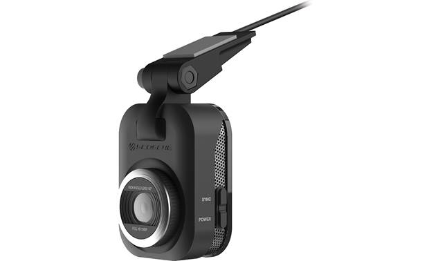 Scosche NEXS10164-ET An adhesive-backed mount lets you place this Scosche dash cam wherever you need it.