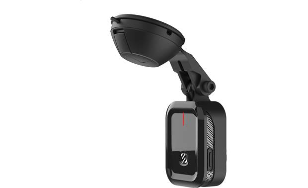 Scosche NEXS11164-ET A suction mount lets you place this Scosche dash cam wherever you need it.