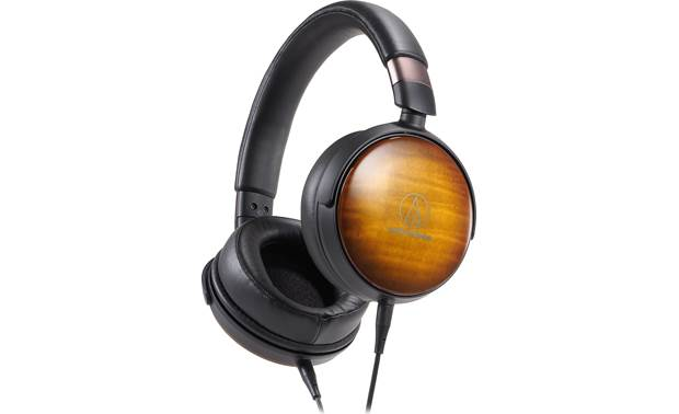 Audio-Technica ATH-WP900 Premium lightweight headphones with large drivers and maple earcups