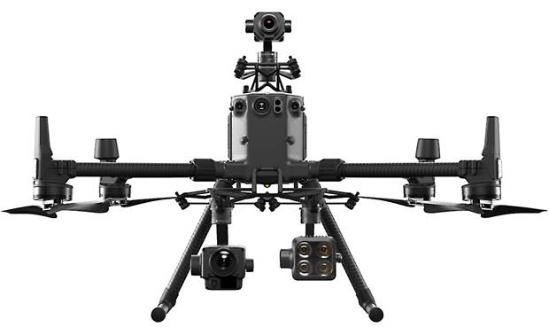 DJI Matrice 300 RTK with Shield Basic Can carry up to three payloads (cameras and accessories not included)