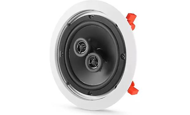 JBL C Series C-6ICDT Dual-tweeter design plays both the left and right channels of the stereo mix