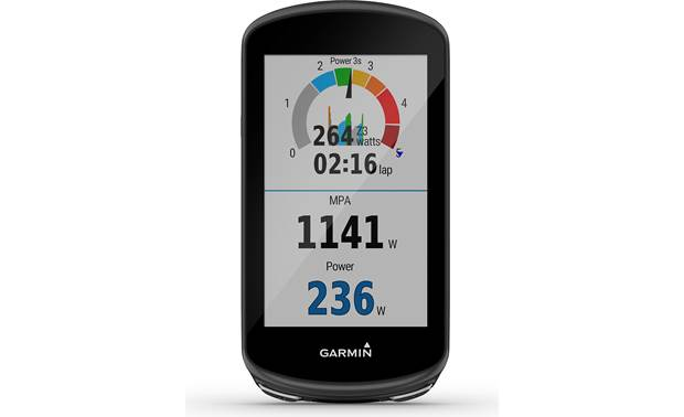 Garmin Edge 1030 Plus Power output measurements (when used with compatible power meters)