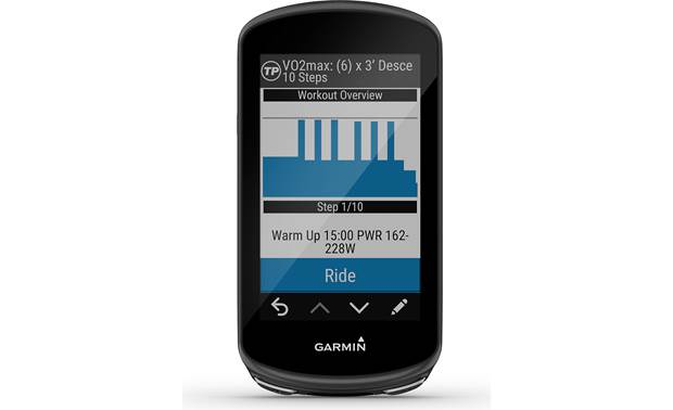 Garmin Edge 1030 Plus Workout guides
